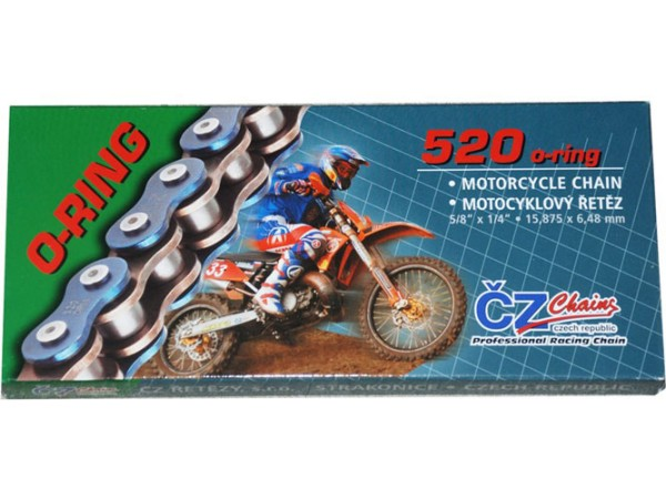 CZ Chains Enduro Kette 520 ORM O-Ring