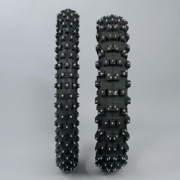 Michelin AC10 Reifenset mit Spikes 18 - 21 Zoll