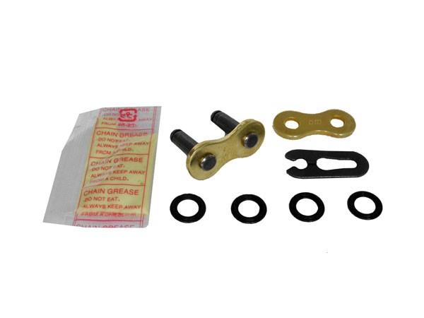 DID Clipschloß für Kette 520 ERVT Gold X-Ring