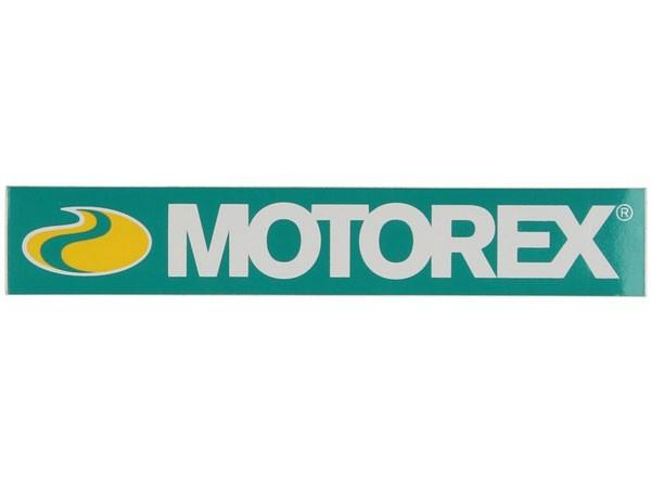 Motorex Aufkleber 205x35