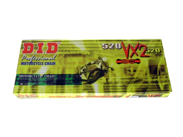 DID Enduro Kette 520 VX2 Gold X-Ring