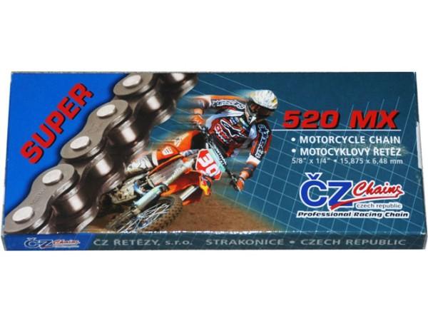 CZ Chains Motocross Kette 520 MX Super Gold