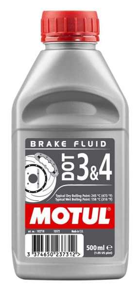 Motul DOT 3 & 4 Brake Fluid Bremsflüssigkeit