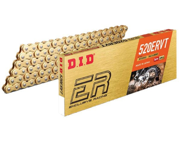 DID Enduro Kette 520 ERVT Gold X-Ring