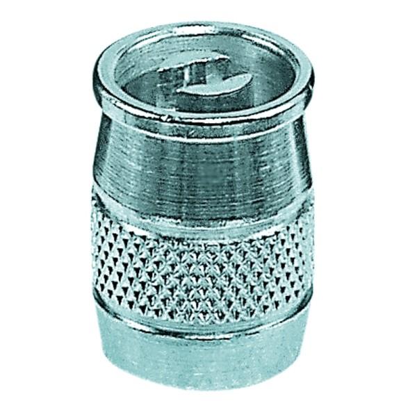Ventilkappe mit Ventilausdreher Metall
